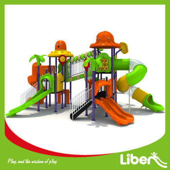Outdoor Playground Type Plastic Material Lowest Price Little Commercial Middle School Playground Equipment