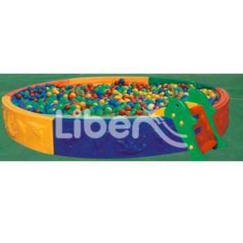 Liben best plastic ball pool LE.QC.001