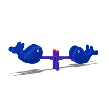 Outdoor Solitary Equipment-Seesaw LE.QB.008