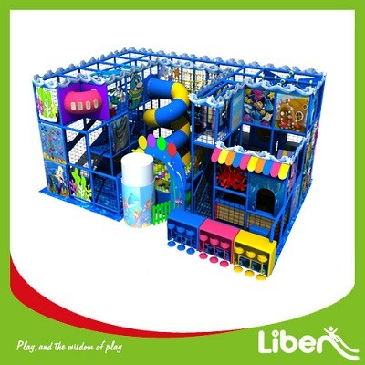 Commercial Multi-layer Slide Children Indoor playground manufacturer
