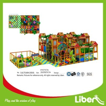 Kids Indoor Play ground Equipment Manufacturer