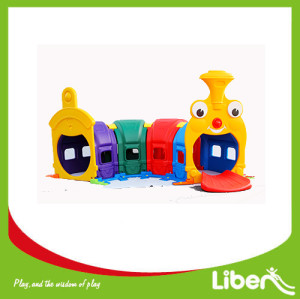 Indoor Playground Plastic Slides