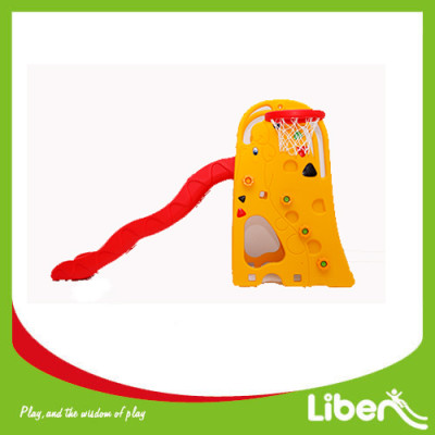 Indoor Playground Toddler Plastic Slide LE.HT.007