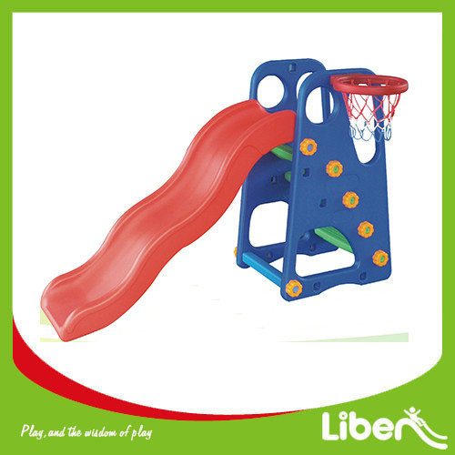 Indoor Playground Toddler Plastic Slide LE.HT.008