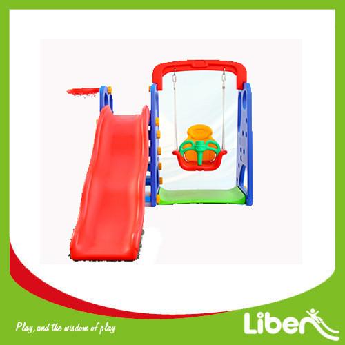 Indoor Playground Toddler Plastic Slide LE.HT.009