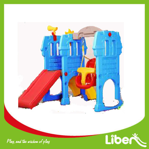 Indoor Playground Toddler Plastic Slide LE.HT.012