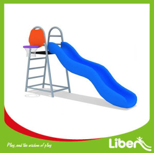 Indoor Playground Toddler Plastic Slide LE.JS.155.01