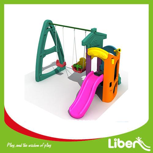 Indoor Playground Plastic Slides LE.HT.022.01