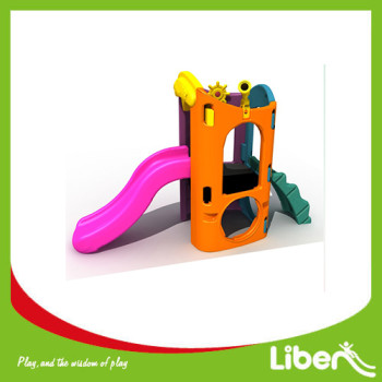 Indoor Playground Toddler Plastic Slide LE.HT.021