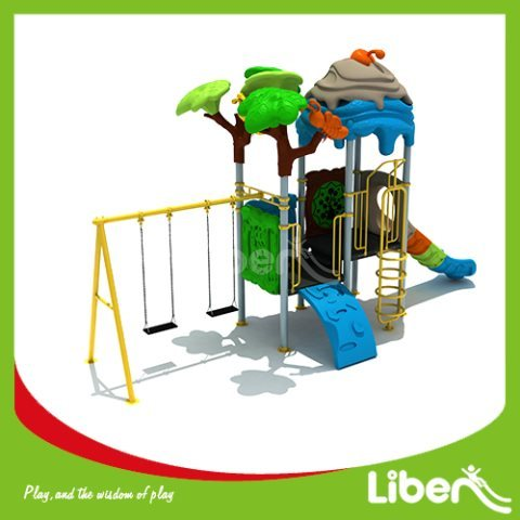With Swing Kids Backyard Playsets Supplier