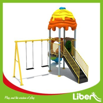 With Swing Outdoor Children's Play Equipment
