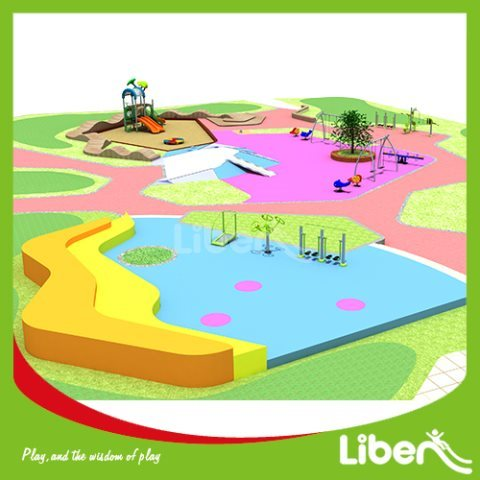 Outside Play Structures Supplies For Amusement Park