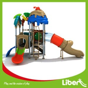 With Swing Outdoor Playground Slides Builder