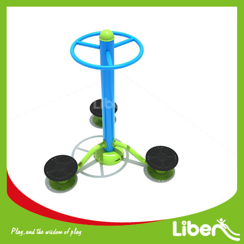 Outdoor workout area Waist twister