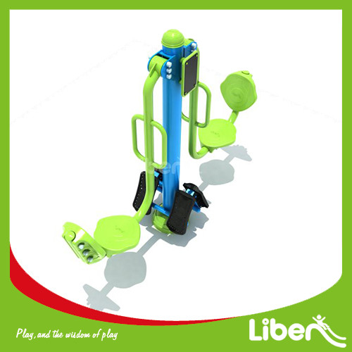green outdoor gym double Fitness Rider