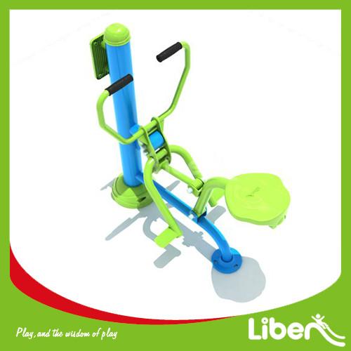green exercise equipment Rowing machine
