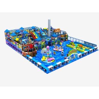 Poland Ocean Theme Indoor Playground Equipment Liben Manufacturer