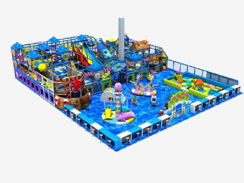 Poland Ocean Theme Indoor Playground Equipment Liben Manufacturer