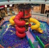 Liben New Products-Ball Pool Spider Tower with Slides