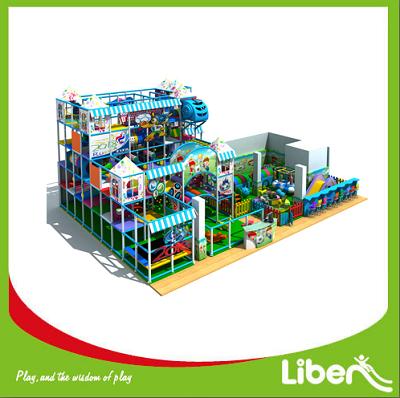 Kids Indoor Playground Equipment Manufacturer