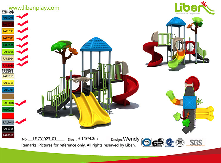 Children Playground Equipment Factory
