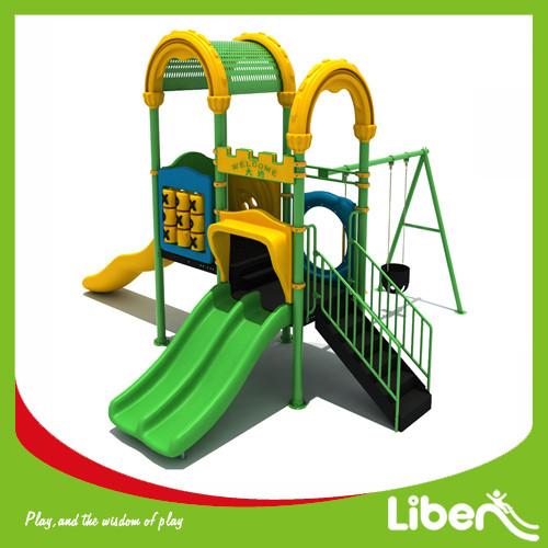 Manufacture of playground equipment slides