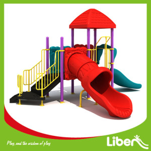 Plastic Playground Material and Outdoor Playground Type lowes playground equipment