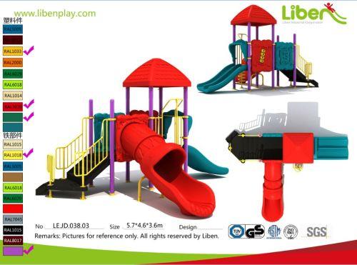 Plastic Playground Material and Outdoor Playground Type lowes playground equipment
