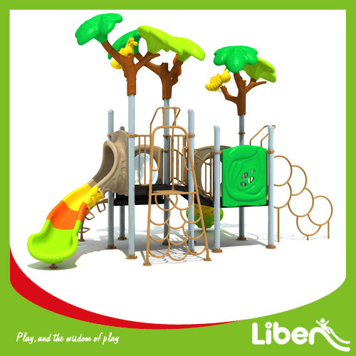 Outdoor Playground Type and Plastic Playground Material indoor & outdoor playground equipment