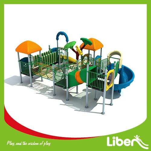 Custom Children playground Equipment LLDPE Slide factory