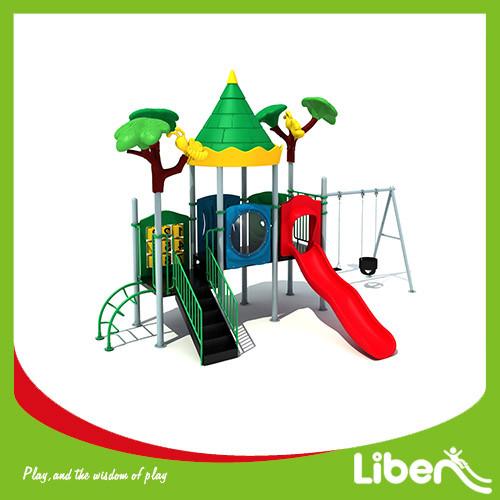 Outdoor Playground Type and Plastic Playground Material indoor & outdoor playground equipment