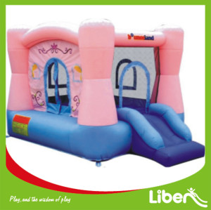 Wholesale Castle Inflatable Bouncer with Inflatable Slide inside