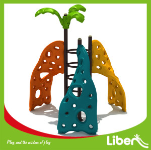 plastic kids rock climbing wall