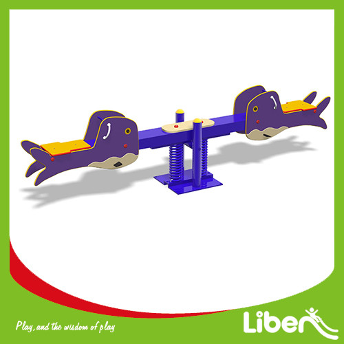 Kids Play Area Outdoor Seesaw