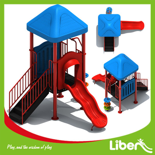 Cheap Price Garden Plastic Outdoor Playsets Factory