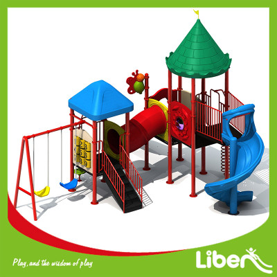 Amusement Park Used Big Play Ground Builder for Children