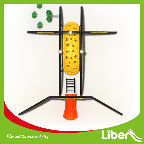 Plastic Playground Material and Outdoor Playground Type outdoor preschool playground equipment