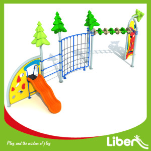 Outdoor preschool playground equipment, outdoor play structure