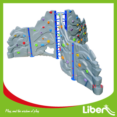 Kids plastic LLDPE climbing structure