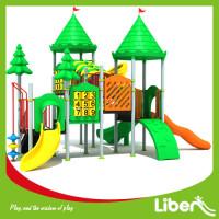 Children play center outdoor play equipment plastic playground slide