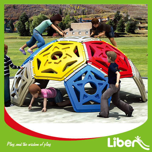 Kids Outdoor Plastic Climbing Structure