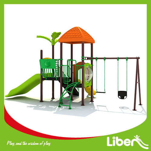 With Swing Outdoor Playground Factory