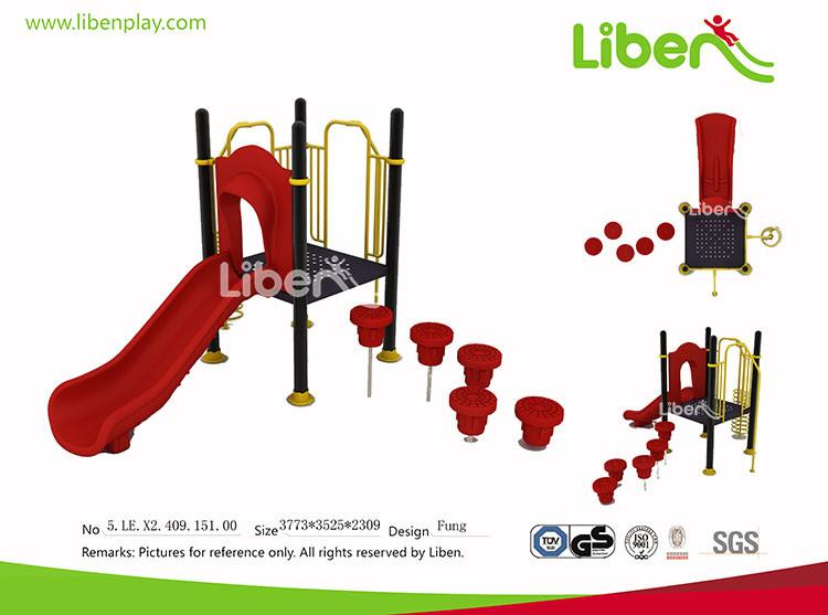 Sell European Popular Type Outdoor Plastic Playground