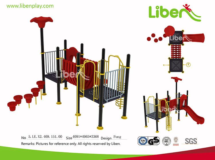 Climbing-N-Slide No Roof Shade Plastic Playground