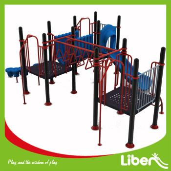 Metal Playground Set Outdoor Kids Backyard Slide Playset