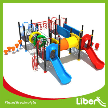Complete Set Selling Plastic Colorful Children Outdoor Playground