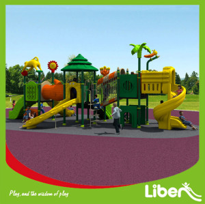Forest Type LLDPE Children Amusement Park Playground