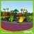 Forest Type LLDPE Children Amusement Park Playground