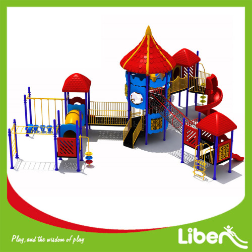Export to Europe Big Tree Outdoor Playground Factory