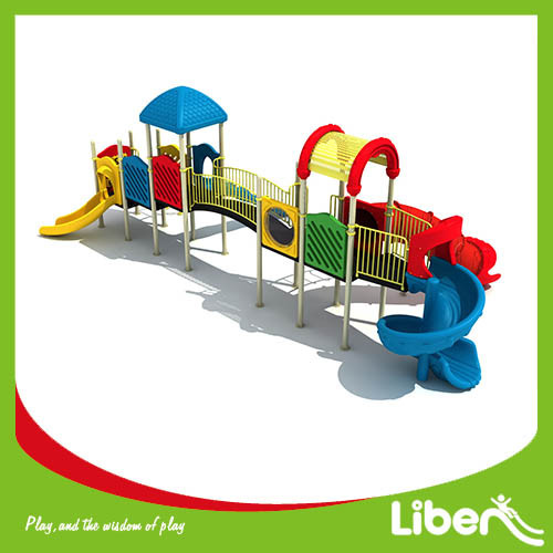 Liben Used Commercial Big Outdoor Children Playground Equipment for Preschool